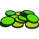 download Coins 3 clipart image with 45 hue color