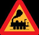 Train Roadsign