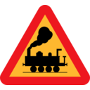 Train Roadsign