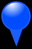 Blue Map Marker