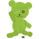 download Canvas Teddy Bear clipart image with 45 hue color