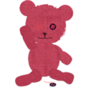 download Canvas Teddy Bear clipart image with 315 hue color