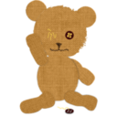 Canvas Teddy Bear