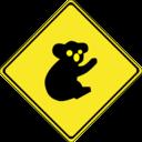 Warning Koalas Ahead