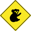 Warning Koalas Ahead
