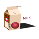 download Apple Milk clipart image with 270 hue color