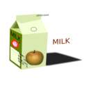 download Apple Milk clipart image with 315 hue color