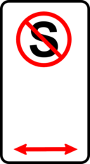 Sign No Standing