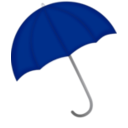 download Red Umbrella clipart image with 225 hue color