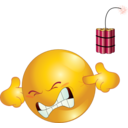 Dynamite Smiley Emoticon