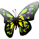 download Butterfly Effect clipart image with 45 hue color