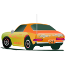 download Rally Car 3 clipart image with 315 hue color