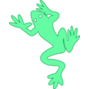 download Frog 03 clipart image with 45 hue color