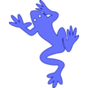 download Frog 03 clipart image with 135 hue color