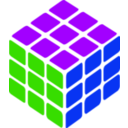 download Rubik S Cube Simple Petr 01 clipart image with 225 hue color