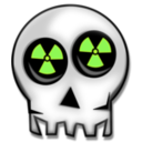 download Nuclear Skull clipart image with 45 hue color