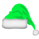 download Santa Claus Hat clipart image with 135 hue color