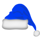 download Santa Claus Hat clipart image with 225 hue color