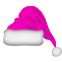 download Santa Claus Hat clipart image with 315 hue color