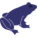 download Frog By Rones clipart image with 135 hue color