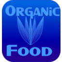download Organic Food Label clipart image with 135 hue color
