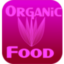 download Organic Food Label clipart image with 225 hue color