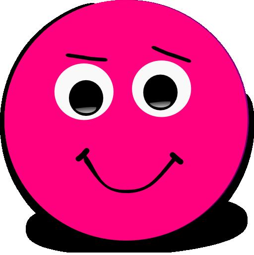 happy smiley pink emoticon clipart i2clipart royalty clipart faces cutouts clip art faces emotions