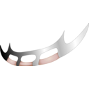 download Batleth clipart image with 315 hue color