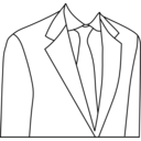 download Suit clipart image with 225 hue color