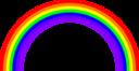 Rainbow Semicircle