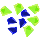 download Gemstones clipart image with 225 hue color