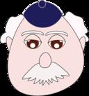 Old Man White Mustache