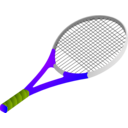 download Tennis Racket clipart image with 45 hue color