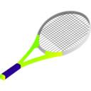download Tennis Racket clipart image with 225 hue color