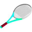 download Tennis Racket clipart image with 315 hue color