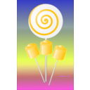 download Lollipops Candy clipart image with 45 hue color