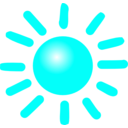 download Weather Symbols Sun clipart image with 135 hue color