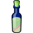 download Bottle Of Colored Sand With Cork clipart image with 45 hue color
