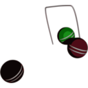 download Croquet Action clipart image with 225 hue color