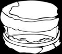 Fast Food Breakfast Egg Muffin