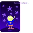 download Numu09 Stars clipart image with 45 hue color