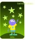 download Numu09 Stars clipart image with 225 hue color