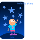 download Numu09 Stars clipart image with 0 hue color