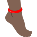 Foot With Anklet