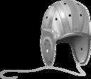 1940s Leather Football Helmet