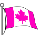 download Canada Flag Flying clipart image with 315 hue color
