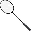 Badminton Racket With Strings