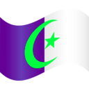 download Algeria Flag 2 clipart image with 135 hue color