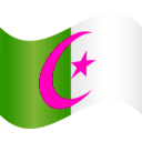 download Algeria Flag 2 clipart image with 315 hue color