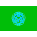 download Flag Of Kyrgyzstan clipart image with 135 hue color